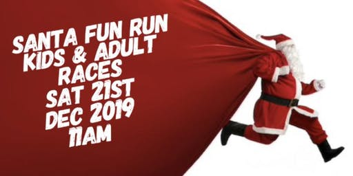 Santa Fun Run - 1k Kids Race and 1 Mile Adult Race