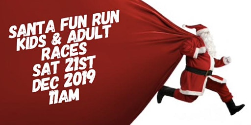 Santa Fun Run - 1k Kids Race and 1 Mile Adult Race