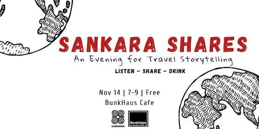 Sankara Shares: An Evening for Travel Storytelling