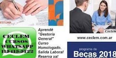 Curso Gestoria General Integral Oficial + Sicam Beca