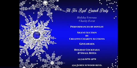 Fit For Real Launch Party-Holiday Veterans Charity Event tickets