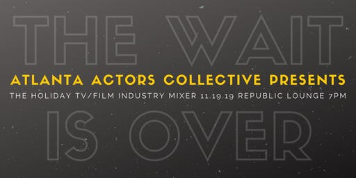 Atlanta Actors Collective Holiday TV & Film Mixer