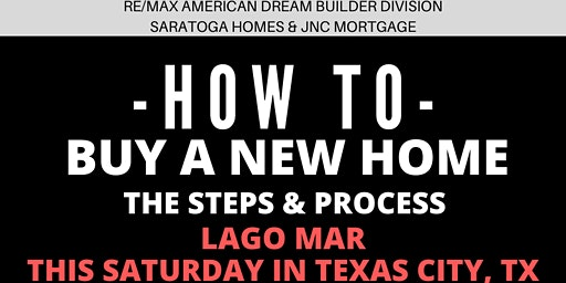 How to Buy a NEW HOME - The Steps and Process / Lago Mar, Texas City TX