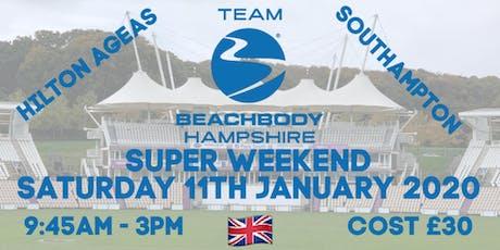 Team Beachbody Hampshire Super Weekend tickets