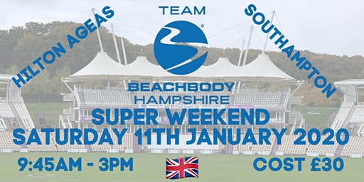 Team Beachbody Hampshire Super Weekend