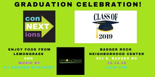 conNEXTions graduation celebration
