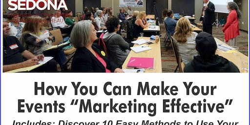 "Monthly Marketing Monday: Make Your Event ""Marketing Effective"""