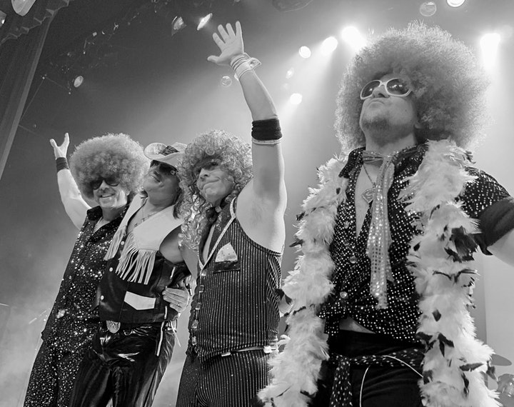 """""""70s Flashback"""" New Years Eve Party featuring Le Freak at Glass Cactus image"""
