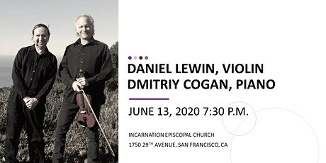 DANIEL LEWIN (VIOLIN) & DMITRIY COGAN (PIANO) - The Beethoven 2020 Project tickets