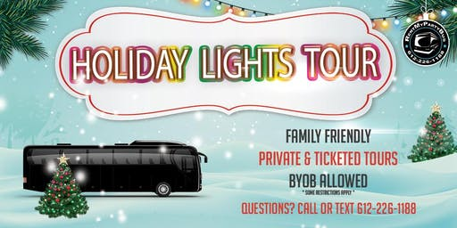 Holiday Lights Tour 12/15 - Every Thur And Sunday In Dec