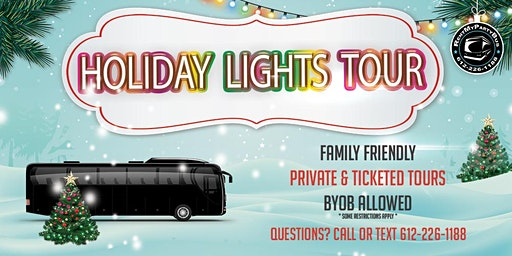 Holiday Lights Tour 12/19 - Every Thur And Sunday In Dec
