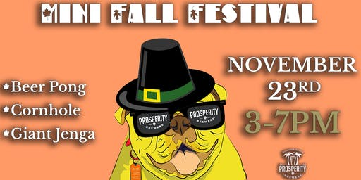 Mini Fall Festival at Prosperity Brewers
