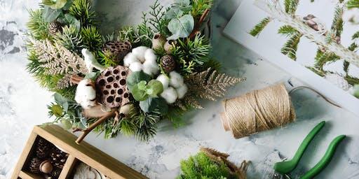Xmas Floral Wreath Workshop