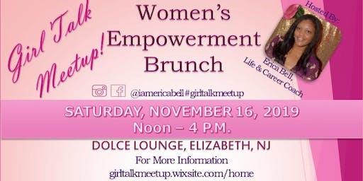 Girl Talk Meetup Women's Empowerment Brunch