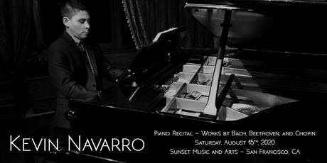 KEVIN NAVARRO, PIANO - The Beethoven 2020 Project tickets
