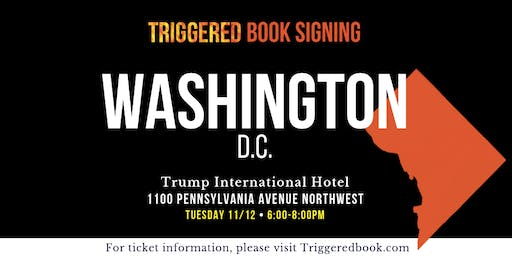 Join Donald Trump Jr for the DC book signing of: TRIGGERED