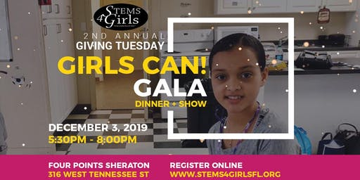 STEMS4Girls - Girls Can! Gala
