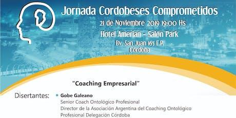 Jornada de Coaching Empresarial entradas