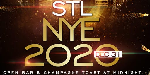 STL New Years Eve 2020 W. Open Bar At DOS SALAS