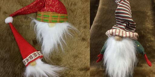 Textile Sculpture Workshop - Scandi Christmas Gnomes