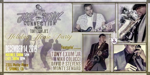 Holiday House Party: Exum Jr, Colucci, Seward, & Stewart!!  8pm Late Show
