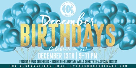Happy Birthday December  Babies! tickets