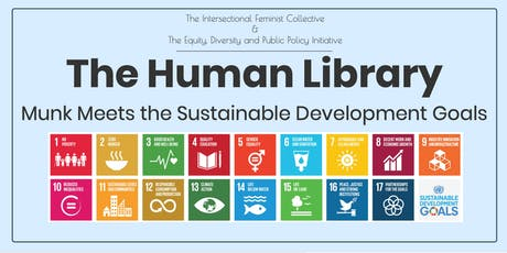 Human Library for the Sustainable Development Goals tickets
