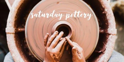 Saturday Pottery!