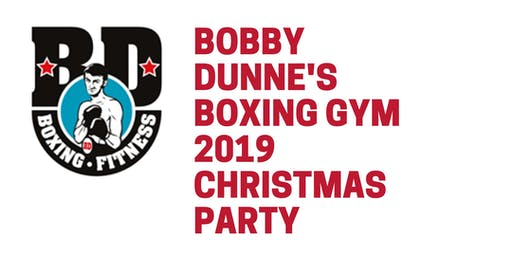 Bobby Dunnes Boxing Gym Christmas Party 2019