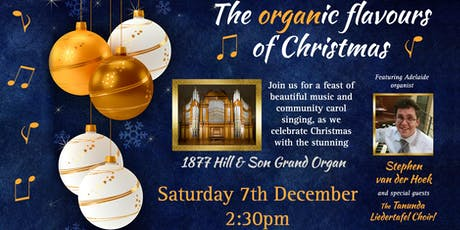 The Organic Flavours of Christmas tickets