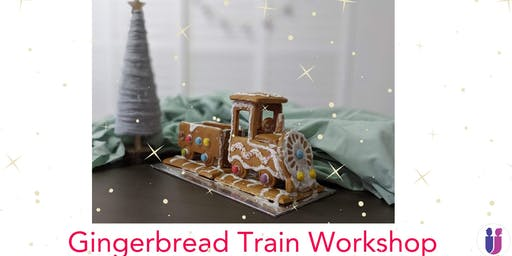 Gingerbread Train for Kids workshop II