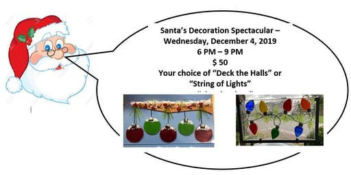 Santa's  Special  (String of Lights OR Deck the Halls) - 12/04/2019
