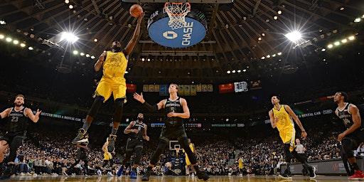 Detroit Pistons at Golden State Warriors 2020 (MSU & UofM Alumni)