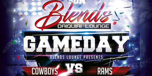 Cowboys vs Rams Watch Party