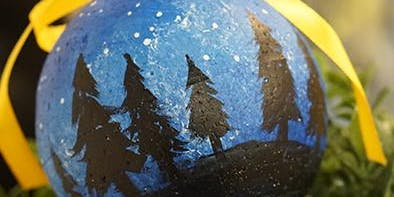 THINGS TO DO -PAINT & SIP: CHRISTMAS ORNAMENTS PAINTING:  NIGHT