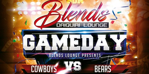 Cowboys vs Bears Watch Party