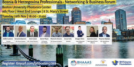 Bosnia & Herzegovina Professionals Networking and Business Forum tickets