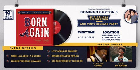 Domingo Guyton's Birthday Celebration & Vinyl Release Party tickets