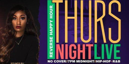 Thursday Night Live! Hip-Hop + R&B