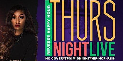 Thursday Night Live! Hip-Hop + R&B