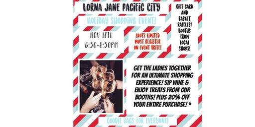 LORNA JANE HOLIDAY LAUNCH PARTY