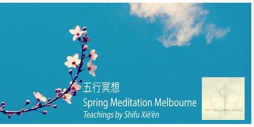 Five Element Meditation Free - Spring Meditation Docklands Melbourne