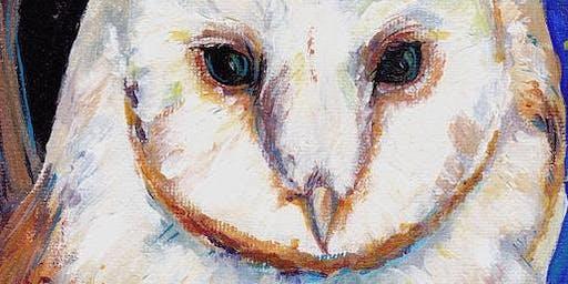 Let's Paint Owls! 3-Class Series
