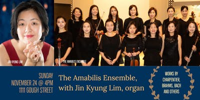 CSM Concerts | Jin Kyung Lim & Amabilis Ensemble