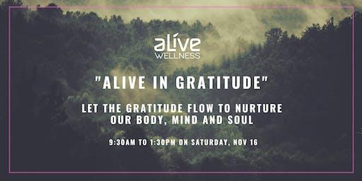 Alive in Gratitude