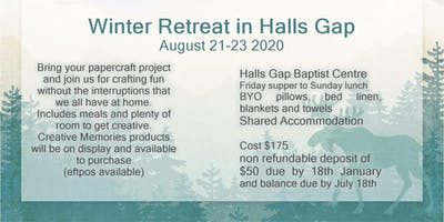 Scrapbooking Retreat in Halls Gap