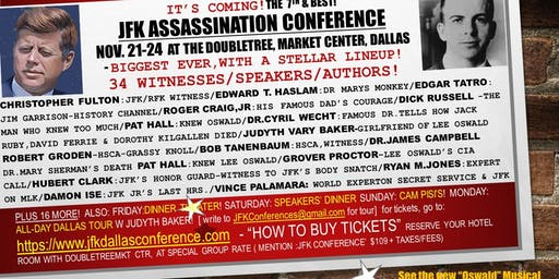 The 7th Annual JFK Assassination Conference