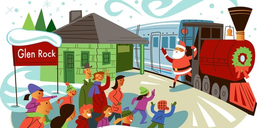 Glen Rock Jaycees Santa Train Ride - 2019