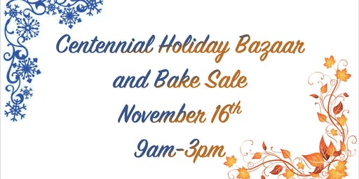 Centennial Elementary Holiday Bazaar and Bake Sale