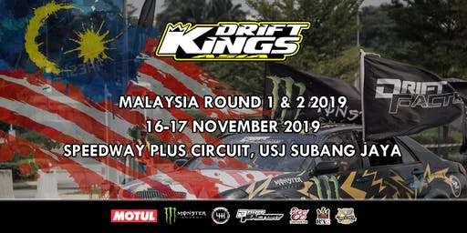 Drift Kings International Series Malaysia Round 1 & 2 2019